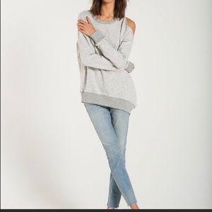 N:Philanthropy one cold shoulder sweatshirt